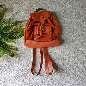 Gucci | Bamboo Suede Mini Backpack | GUC!
